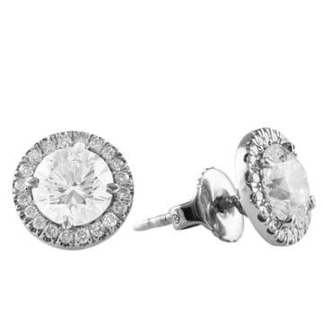 Diamond Platinum Stud Earrings