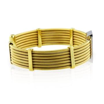 gold and diamond bracelet