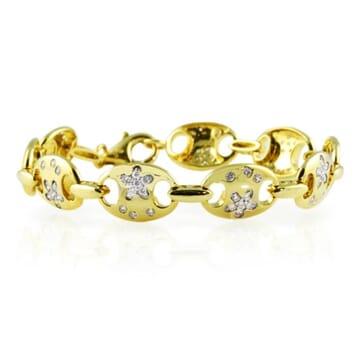 DIAMOND 18K YELLOW GOLD BRACELET
