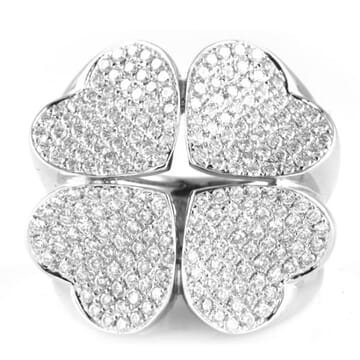 DIAMOND 18K WHITE GOLD RING