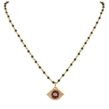 DIAMOND AND RUBY 18K ROSE GOLD PENDANT NECKLACE