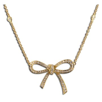 DIAMOND 18K GOLD PENDANT NECKLACE