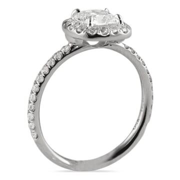 .81 ct Cushion Diamond 14K White Gold Engagement Ring
