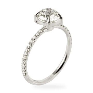1.20 ct Round Diamond Platinum Engagement Ring