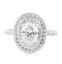 1.25 ct Oval Diamond Engagement Ring