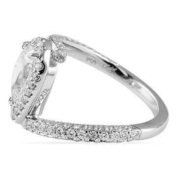 1.20 Carat Pear Shape Diamond Engagement Ring