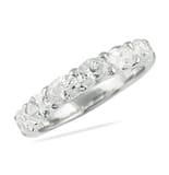 1.55 CT OVAL DIAMOND EAST-WEST WEDDING BAND