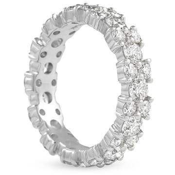 3.1 CT ROUND DIAMOND 'CLUSTER' ETERNITY BAND
