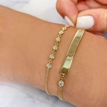 Engravable ID Bracelet