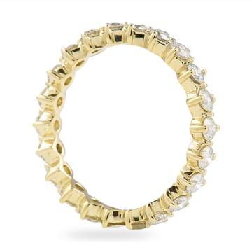 1.00 CT ROUND DIAMOND COMPASS-SET BAND