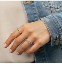 Pave Crown Ring