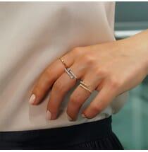 East-West Baguette Diamond Ring