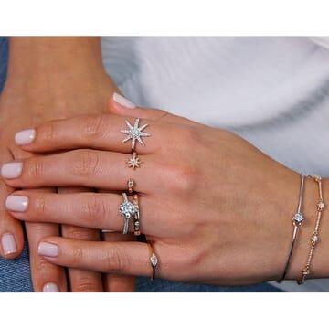 Diamond Starburst Ring