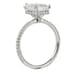lauren b emerald cut ring