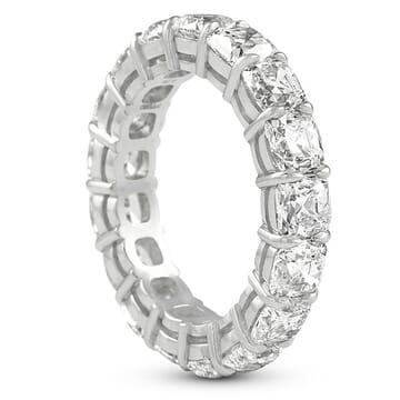 ANTIQUE CUSHION DIAMOND ETERNITY BAND