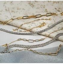 Mini Chain Bracelet yellow gold