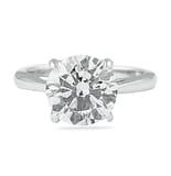 2.53 ct Round Diamond Engagement Ring