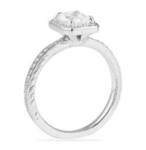 1.00 ct Radiant Cut Diamond Engagement Ring