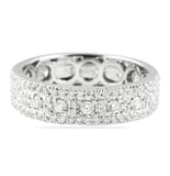 1.00 Carat Round Diamond Eternity Band Ring