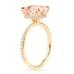 morganite rose gold ring lauren b