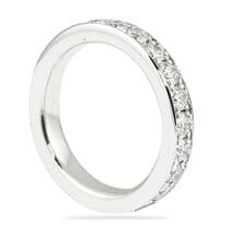 1.9 CT ROUND DIAMOND BRIGHT CUT ETERNITY BAND
