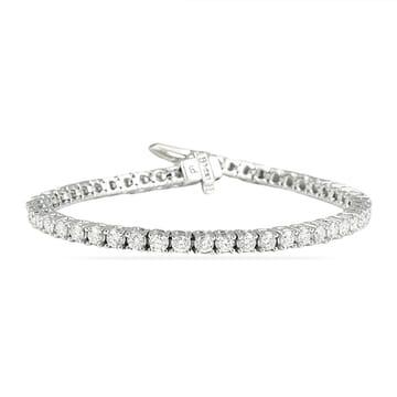 diamond tennis bracelet 4 carats
