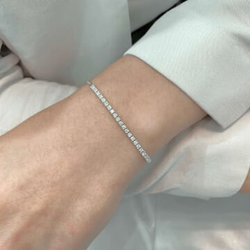 .60 ct Diamond 'Zip-Up' Tassel Bracelet