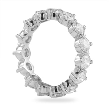 2.90 CT ROUND DIAMOND COMPASS SET ETERNITY BAND