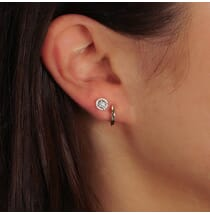 Solid Mini Huggie Earrings