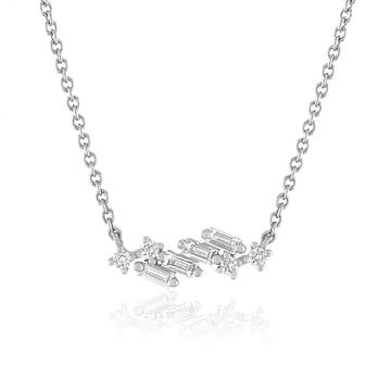 Mixed Shape Diamond Pendant