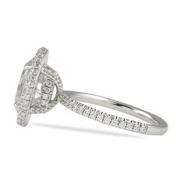 CUSTOM MICROPAVE ENGAGEMENT RING