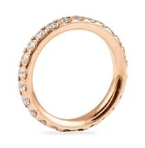 ROSE GOLD AND DIAMOND WEDDING BAND