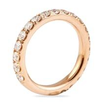 ROSE GOLD PAVE WEDDING BAND