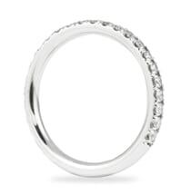 white gold diamond wedding band ring