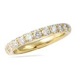 1.35 CT ROUND DIAMOND PAVE WEDDING BAND