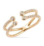.30 CT ROUND DIAMOND ROSE GOLD RING