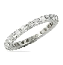 1.60 CT DIAMOND ETERNITY BAND WHITE GOLD