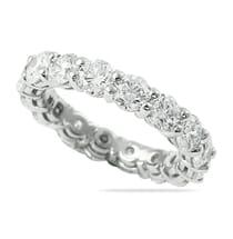4 carat diamond eternity band ring