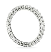 1 carat shared prong eternity band