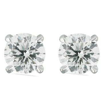 1.8 carat TW Diamond Stud Earrings white gold