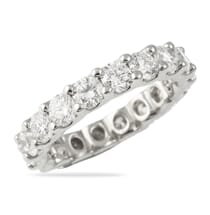 u shape band over 3 carats of diamonds