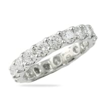 platinum u shape band 2 carats