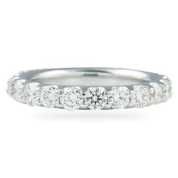 2.1 CT DIAMOND LOW PROFILE 'U-SHAPE' ETERNITY BAND
