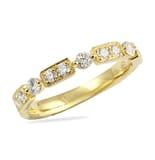 .50 CT DIAMOND YELLOW GOLD WEDDING BAND RING